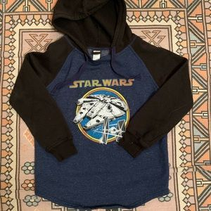Star Wars Small hoodie black Navy sweater unisex